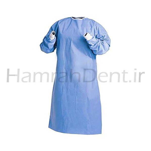 همراه دنت - hamrahdent - گان جراح الیافی